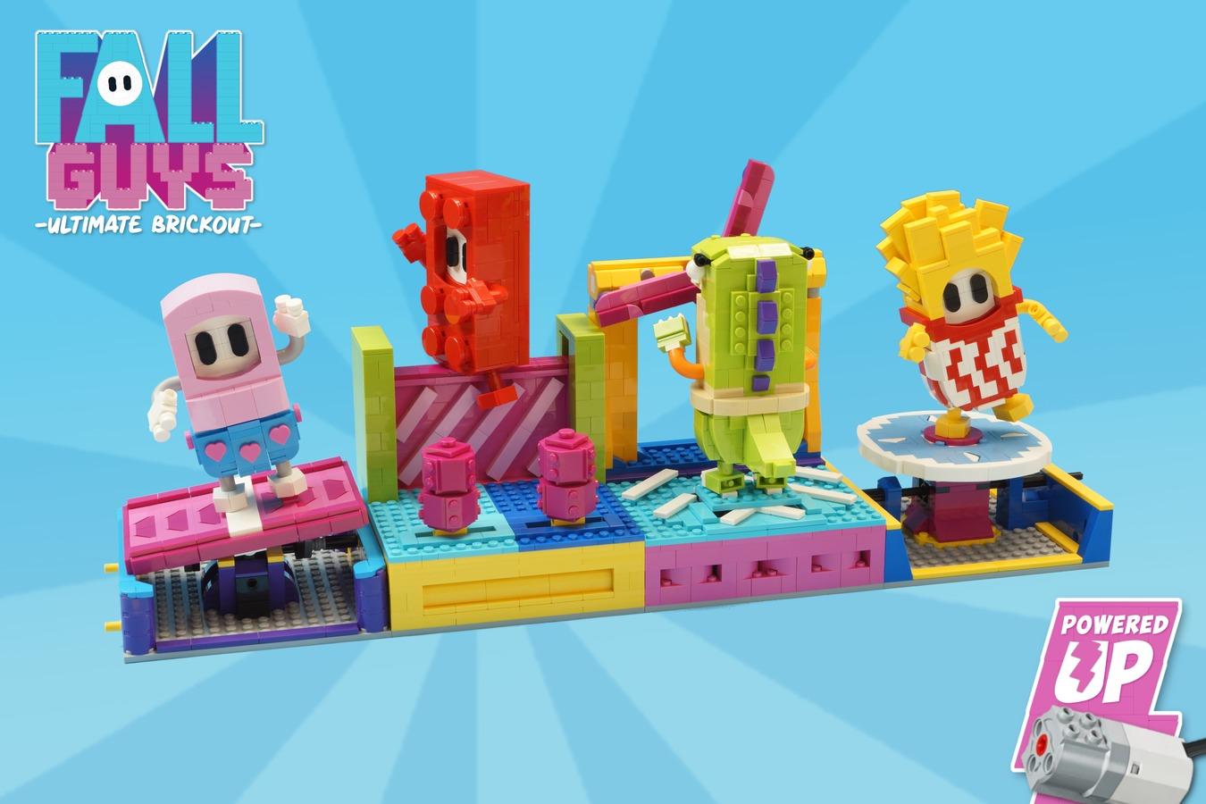 Fall Guysのレゴが発売される!? LEGO IDEASで秀逸なアイデアが登場