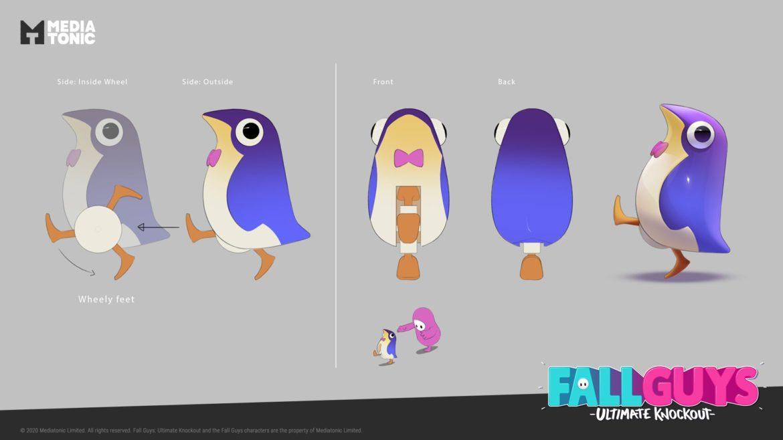 Fall Guys シーズン3でペンギン型ギミックが!?