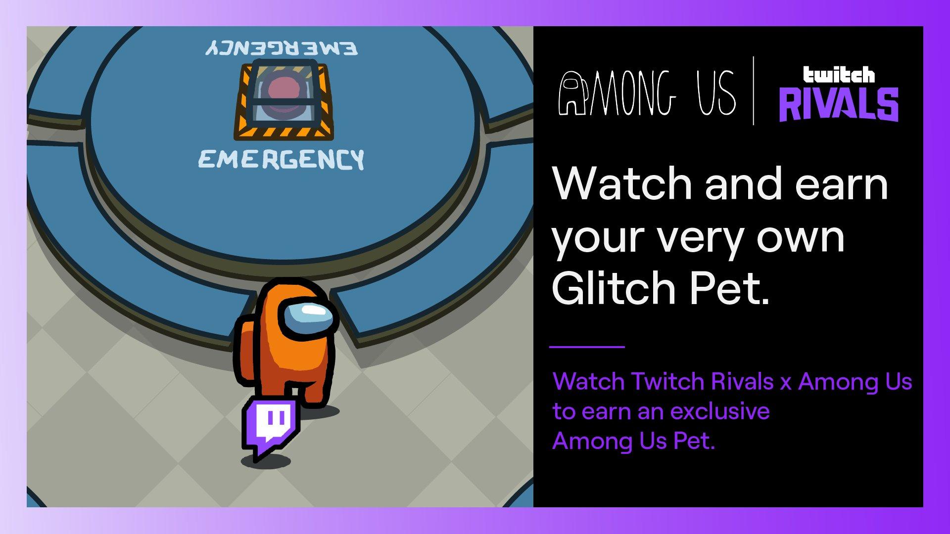 Among Us TwitchのPetを期間限定配布! ※公開時不具合→復旧