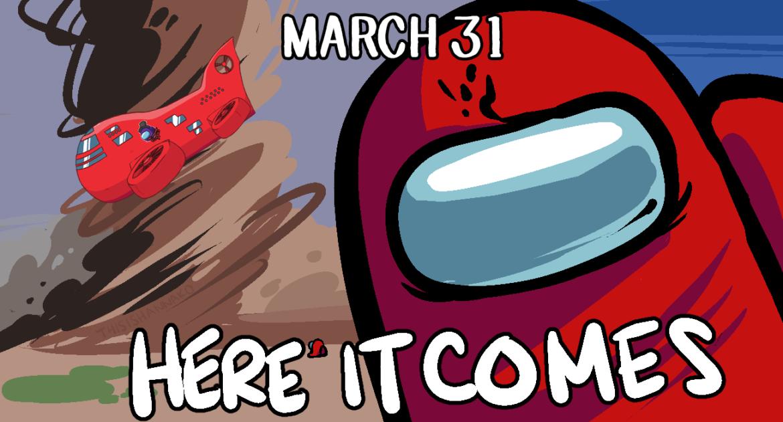 Among Us | ついに新マップ「Airship」追加のリリース日が3月31日に決定!!